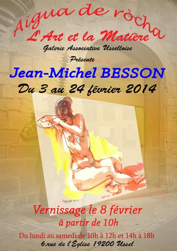 Affiche Jean-Michel BESSON 2014 2