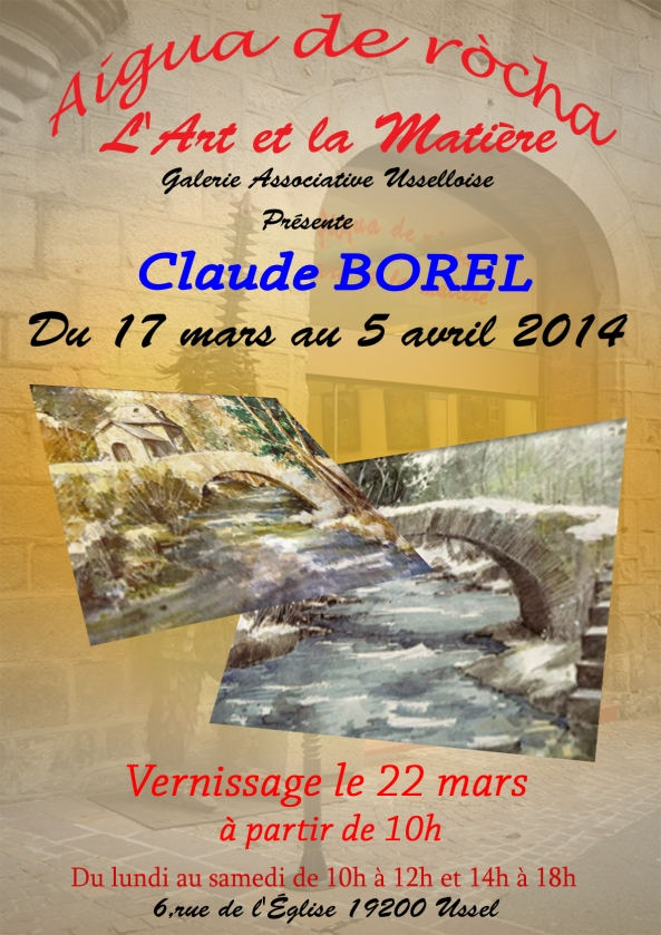 Claude BOREL 2014