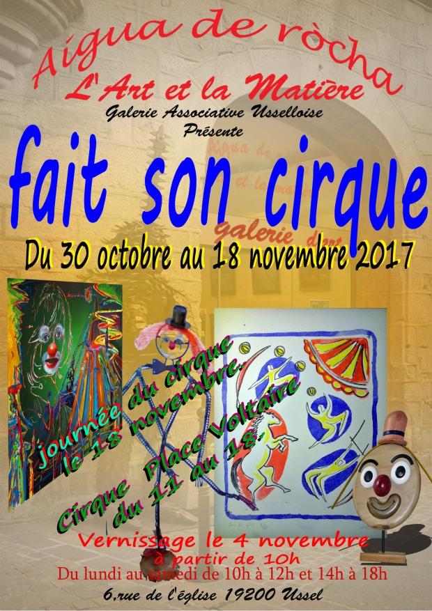 Fait son Cirque 2017