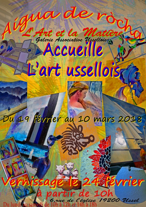 Art Ussellois cp
