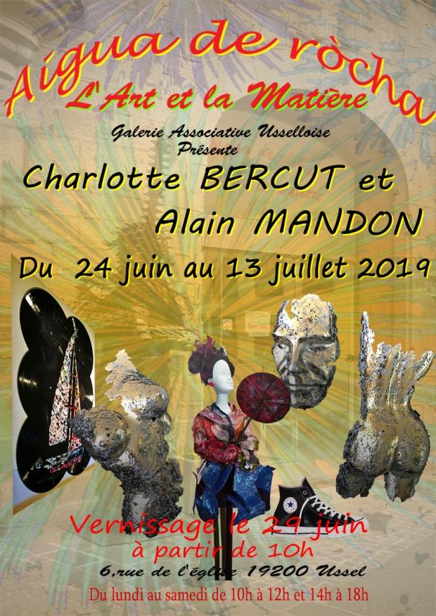 Alain MANDON et Charlotte BERCUT 2019 p