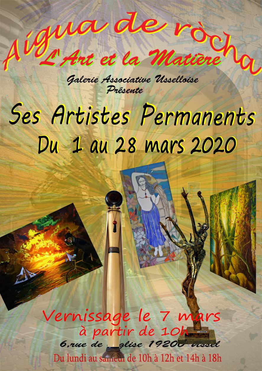 Artistes Permanents 2020 A p